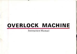 sewland overlocker instruction manual