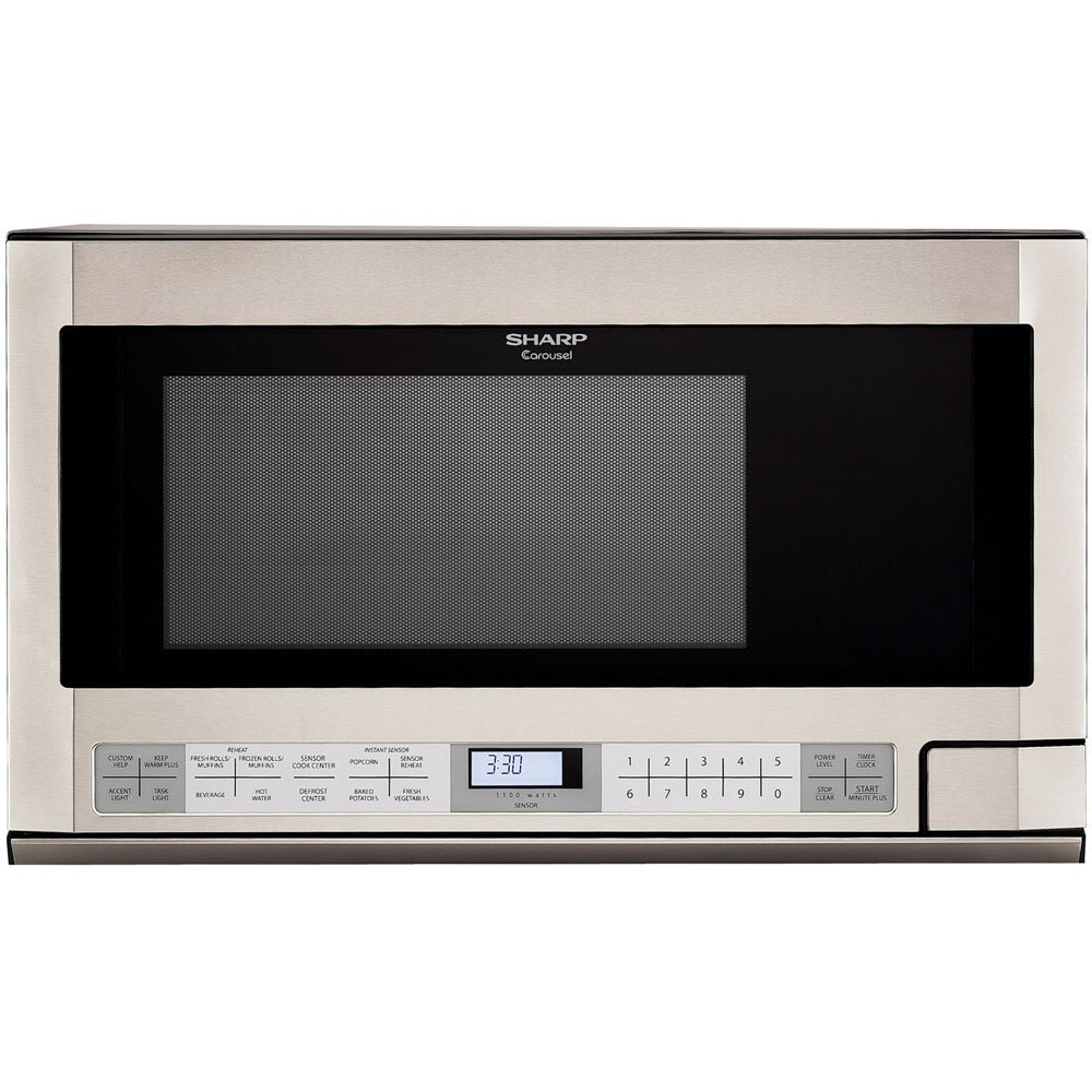 sharp carousel 1100 watt microwave manual