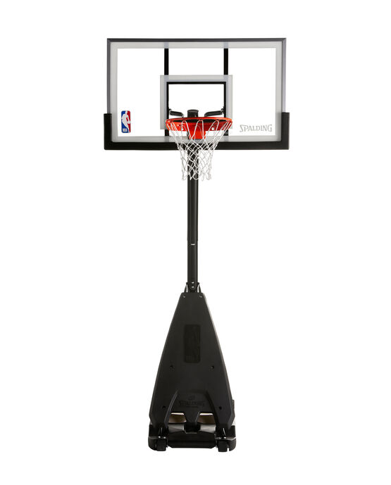 Spalding 54 glass portable basketball system manual