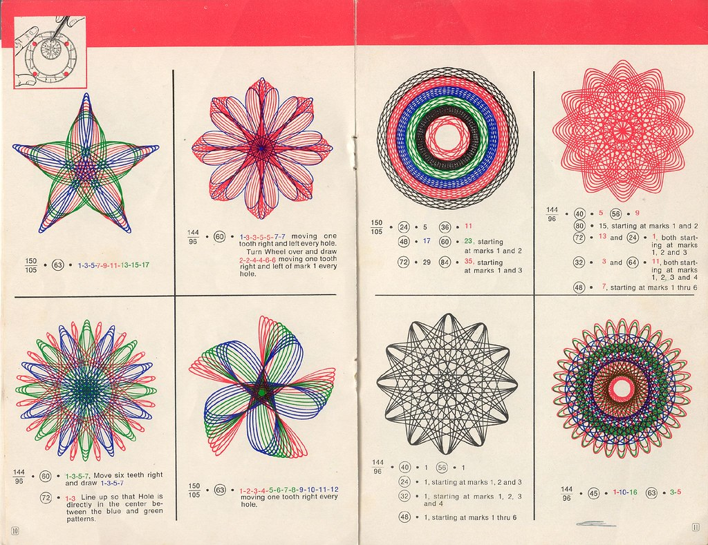 spirograph designs with instructions