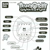 Tamagotchi connection 168 in 1 instructions