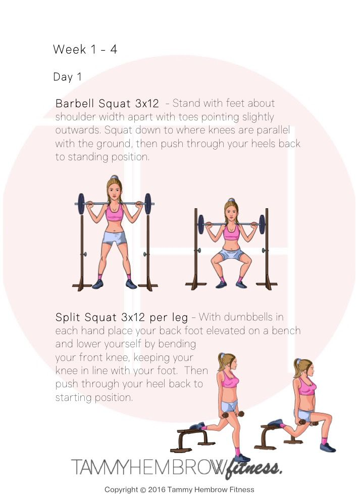 Tammy hembrow at home workout pdf free