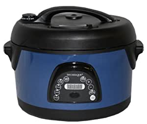 Technique 6.5 qt oval voice guided pressure cooker manual