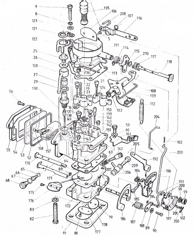 Toyota 4y carburetor diagram service manual