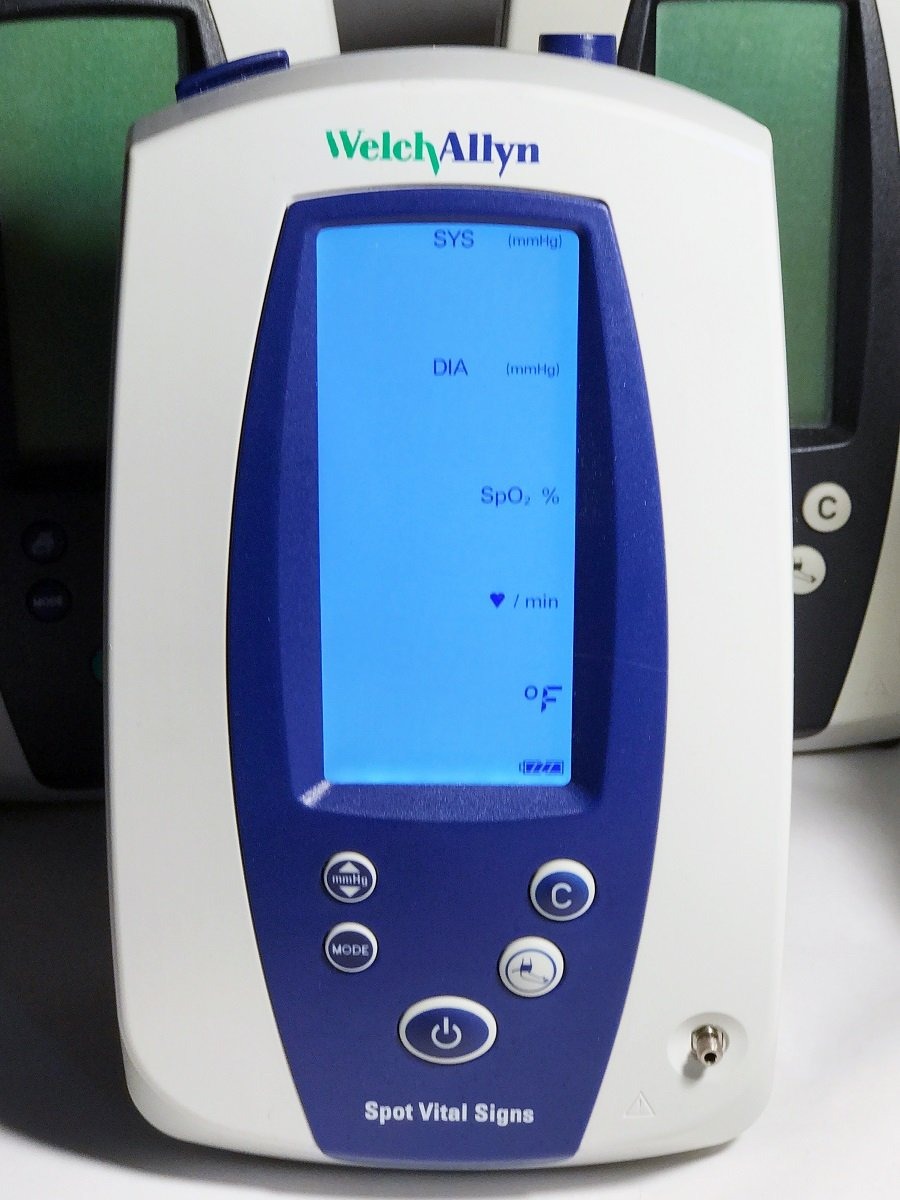 Welch allyn spot vital signs lxi manual