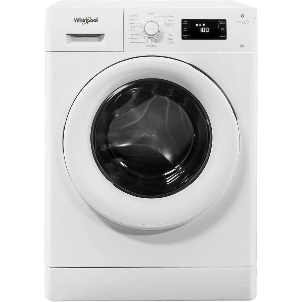 whirlpool front load washing machine user manual