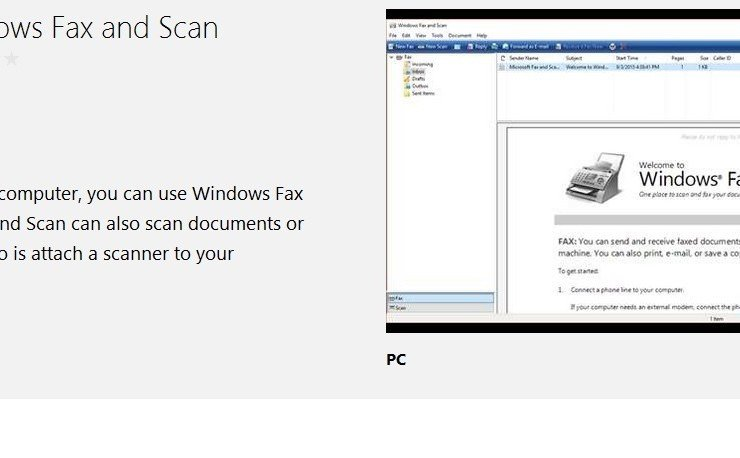 Windows fax and scan windows 10 pdf
